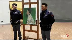 Long-lost Gustav Klimt painting found in wall of Italian art gallery confirmed as authentic
