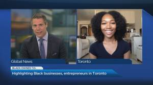 Promoting Black-owned Toronto businesses (03:07)