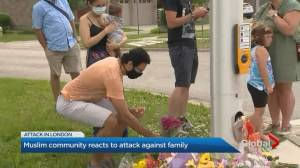 Muslim community reacts to attack against family in London, Ont. (02:00)