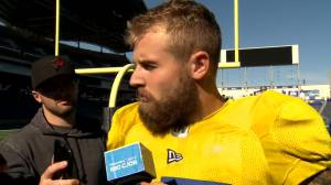 RAW: Blue Bombers Chris Streveler – Oct. 8