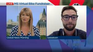 Virtual ride for MS Canada
