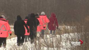 Searching for Billie Johnson's remains west of Edmonton (02:05)