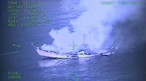 Coast guard release video of deadly fire on scuba diving boat