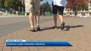 Kelowna couple celebrates milestone