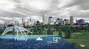 Edmonton early morning weather forecast: Monday, September 9, 2019