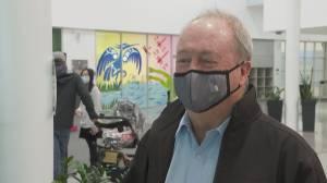 Surrey mayor Doug McCallum makes public appearance (02:16)