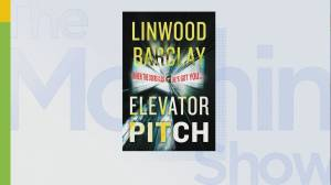 Author Linwood Barclay talks about his new book 'Elevator Pitch'