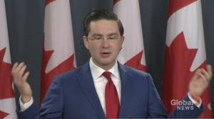 Poilievre calls on government to release economic update, get back to work as economy sheds 71K jobs