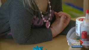 Province, City of Calgary look at curbing costly child care in Alberta (02:22)