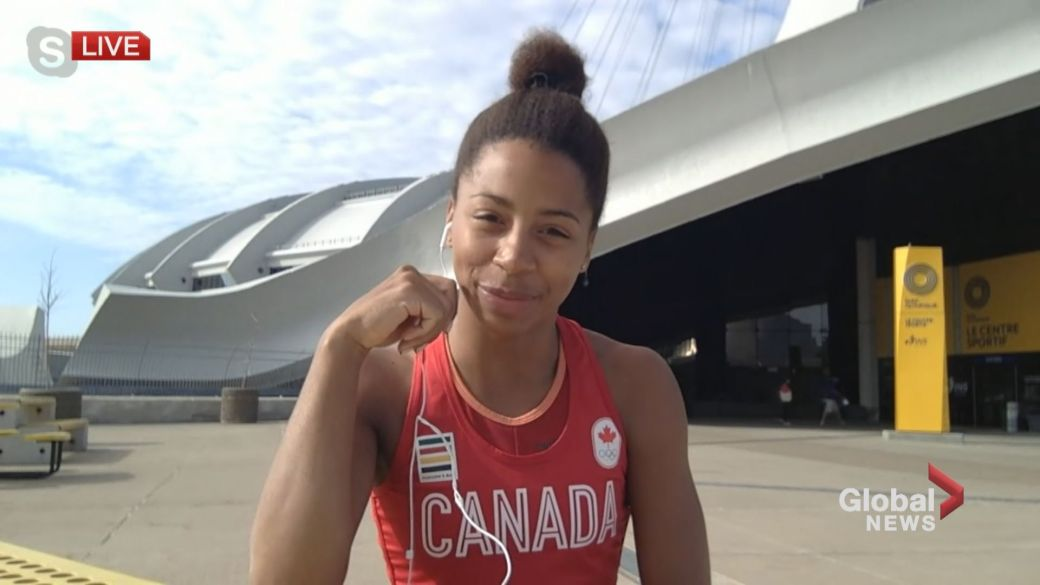 Click to play video: 'Montreal Olympian Jennifer Abel'