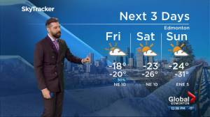 Edmonton bracing for extremely cold weather (06:09)