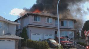 Six people displaced by Vernon house fire