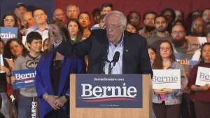 Bernie Sanders becomes Democratic race front-runner
