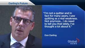Saint John mayor Don Darling 'considered quitting'