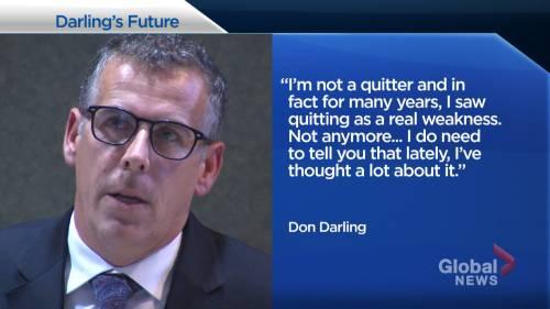 Saint John mayor Don Darling 'considered quitting' | Watch News Videos Online - Globalnews.ca