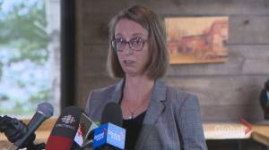 Nicole O'Byrne to run for federal Greens in Fredericton (01:45)