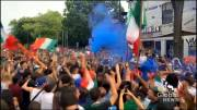 Play video: Montreal Italians celebrate Euro Cup win