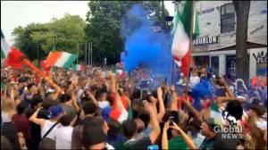 Montreal Italians celebrate Euro Cup win (02:05)