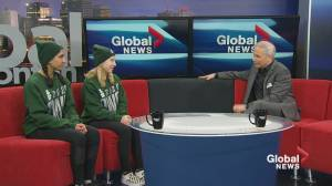 Artistic swimmers preparing for Alberta Winter Games in Airdrie