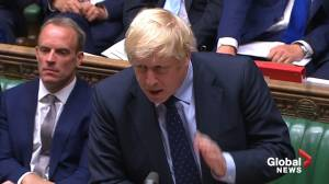 Boris Johnson says he'll call election as Brexit agenda defeated