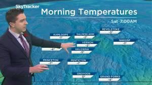 Kelowna Weather Forecast: October 6 (03:36)