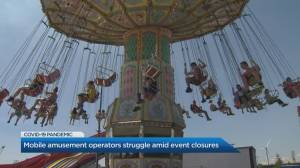 Amusement ride operators struggle with income loss amid event cancellations (04:47)