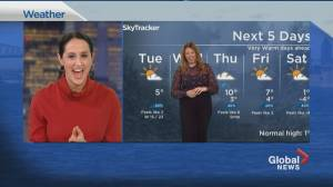 Global News Morning weather forecast: March 9, 2021 (02:40)