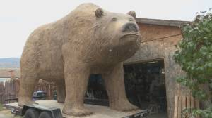 Large Bear Sculpture (02:05)