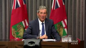 Manitoba further loosening COVID-19 restrictions as vaccination targets surpassed, masks no longer required indoors: Pallister (00:51)