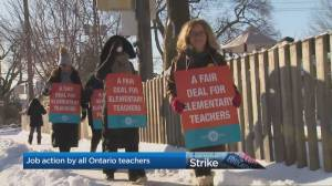 Ontario teachers continue taking job action