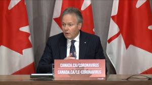 Coronavirus outbreak: Poloz outlines Bank of Canada's strategy during COVID-19 pandemic (01:40)