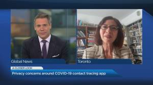 Are there privacy concerns with Canada's new COVID-19 contact tracing app?