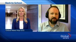 Helping students deal with uncertainty as they head back to school amid COVID-19 pandemic (03:33)