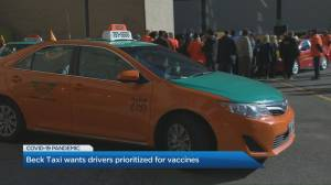 Beck Taxi wants drivers prioritized for vaccines (04:34)