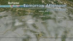 Kelowna Weather Forecast: September 6 (03:23)