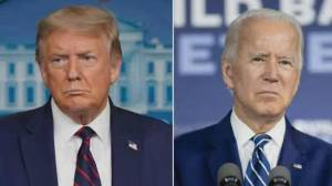 Trump tries to narrow Biden lead with final campaign blitz (02:09)