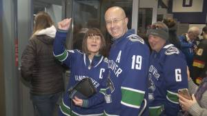 U.K. couple the definition of super Canucks fans