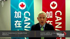 Canadians detained in China 'both very healthy physically and mentally': Canadian ambassador to China (01:10)