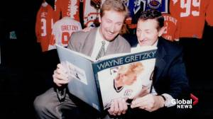 Hockey world pays tribute to the late Walter Gretzky, father of The Great One (02:09)