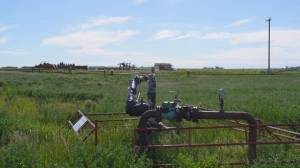 Solar project seeks to replace abandoned rural oil wells