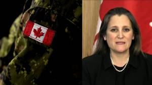 Freeland apologizes to women harassed in military (17:26)