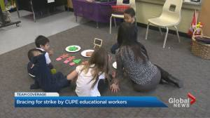 Parents of students react to possible strike of Ontario education workers (01:50)