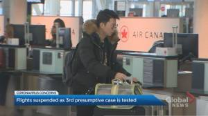 Air Canada among several airlines suspending flights to China amid coronavirus outbreak