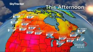 Winnipeg weather outlook: July 26 (01:37)