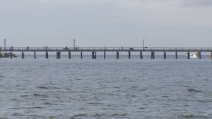 White Rock pier officially reopens after windstorm damage