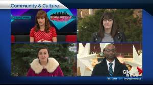 A very merry movie debate on the Global News Community and Culture Panel (05:22)