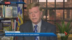 B.C. premier comments on speculation about possible provincial election