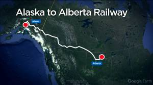 Alaska to Alberta rail line could help get Canadian oil to market