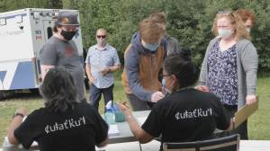First Nations collaborate on cross-border vaccine clinic (02:10)