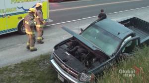 Pickup truck driver charged after Hamilton Twn. collision